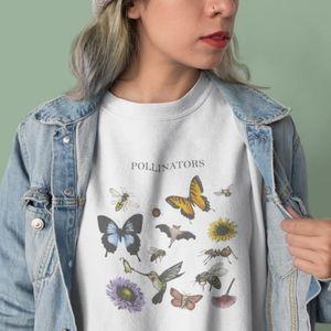 Educated Earthling Pollinators pullover sweatshirt